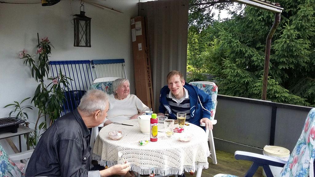 Großmutters 94. Geburtstag