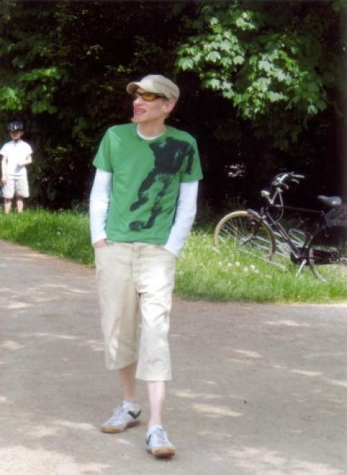 stundenlang im Elbpark spazieren