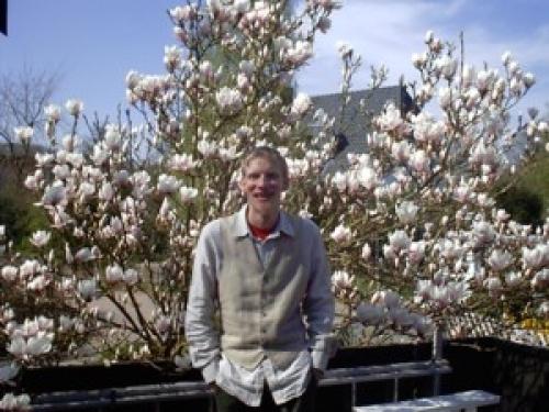 besonders, wenn die Magnolien blühen